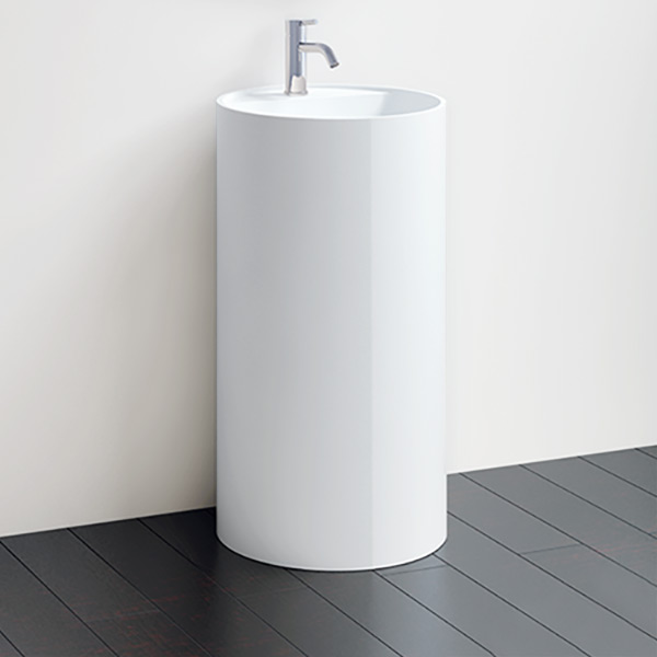 Lavabos sur colonne