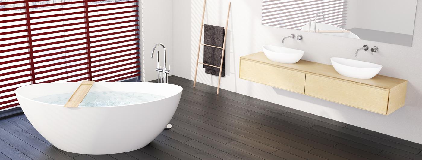 Badeloft отдельностоящей ванной